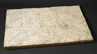 Western Front Trench Model, 1917 (Bild: British Library)