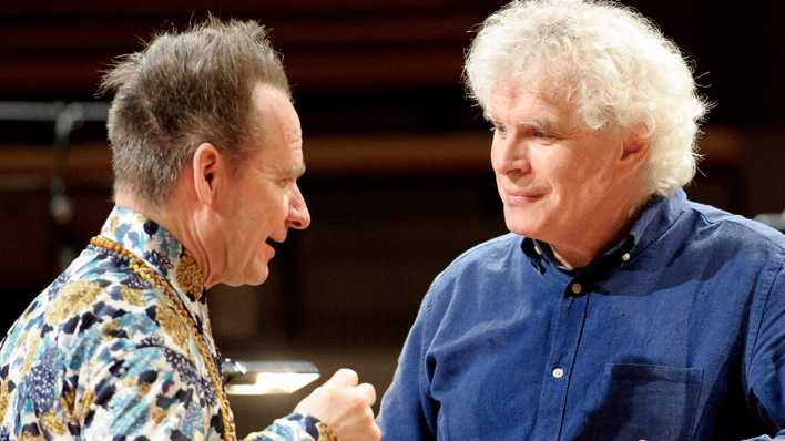 Peter Sellars und Sir Simon Rattle