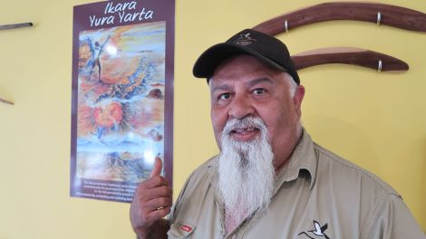 Mick McKenzie ist Tourguide in den Flinders Ranges
