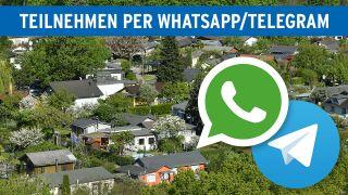 Aktion Whatsapp & Telegram