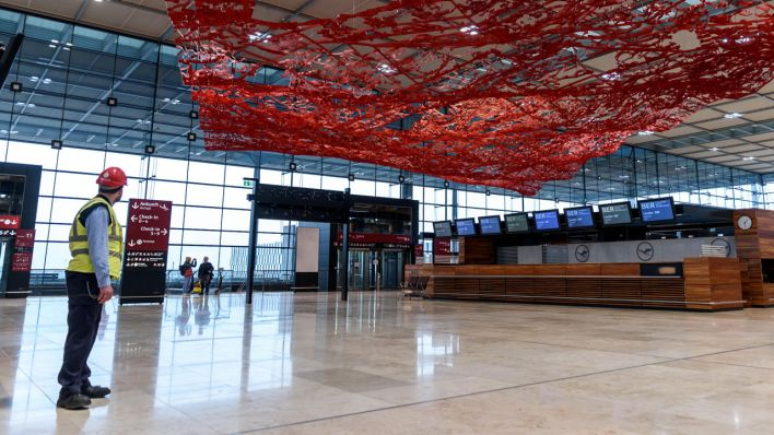 Ber Flughafen Bauzeit
