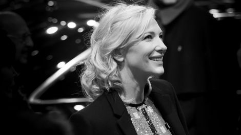Cate Blanchett am Berlinale Palast. (Bild: Lisa Winter)