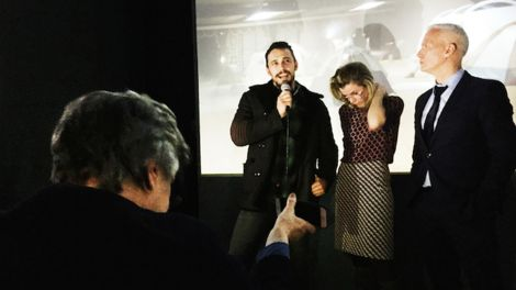 ART SPEECH BY JAMES FRANCO (Bild: JOSEPH WOLFGANG OHLERT)