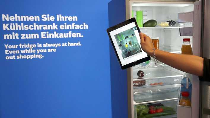 Bosch Kühlschrank Kamera : Vernetzte haushaltsgeräte haben noch keine fangemeinde inforadio