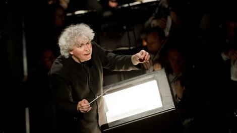 Sir Simon Rattle © Monika Rittershaus