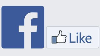 Facebook Logo mit Like-Button; Quelle: facebook.com