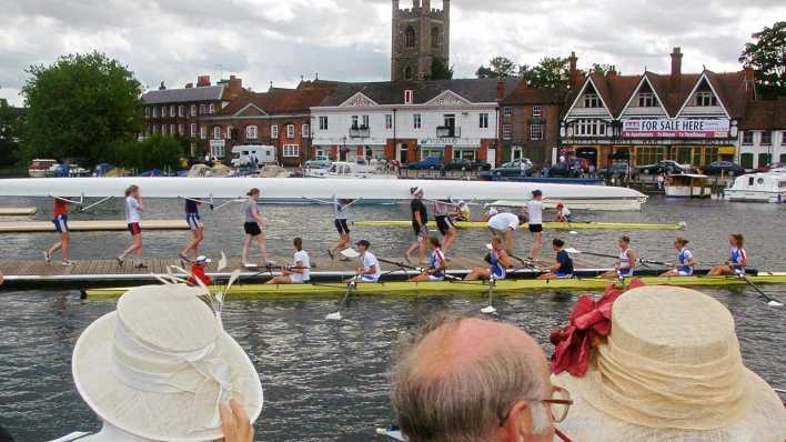 Archivbild: Royal Regatta in Henley on Thames (Quelle: dpa/Johnny Green/PA)