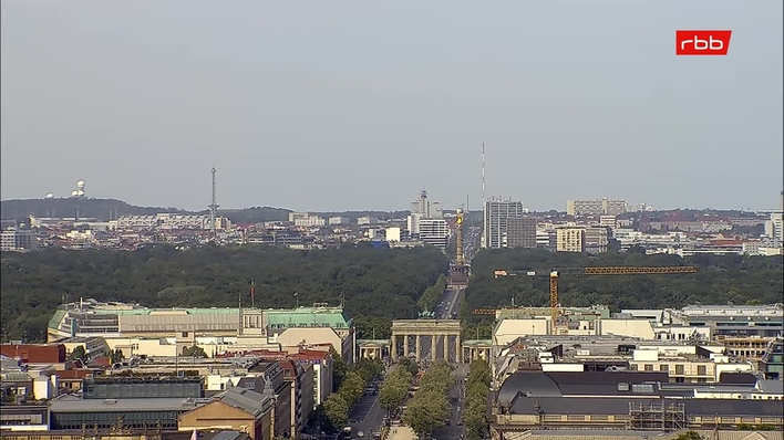 rbb Wettercam - Rotes Rathaus, Berlin